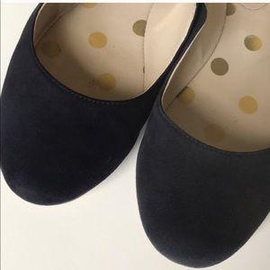 Boden Shoes - Boden Navy Suede flats sz 9 1/2 E 39 1/2 very GUC